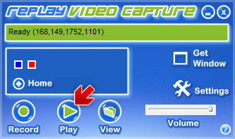 Replay Video Capture - Play