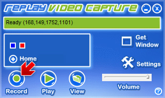 Replay Video Capture - Record